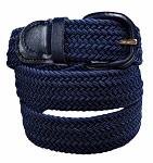 Ladie's Navy Leather Belt